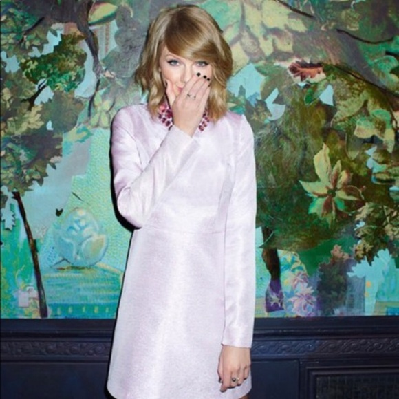 f24aedb6c6573 ASOS Dresses | Nwt Black Label Glitter Dress With Gem Collar | Poshmark